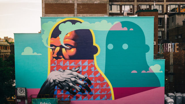 Here's where to go to learn about street art in Montreal