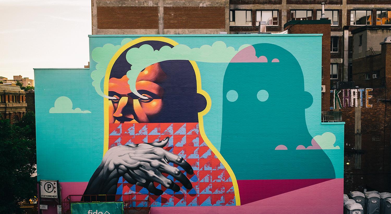 Voici où aller pour vous initier à l'art de rue à Montréal