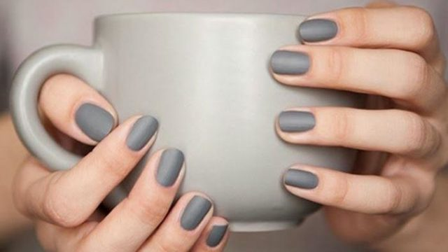 10 ideas for trendy and cute matte nails