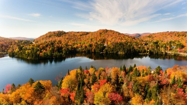 The top 10 places where to see the fall foliage in Quebec