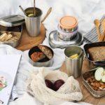 10 jolis essentiels pour des lunchs zéro déchet