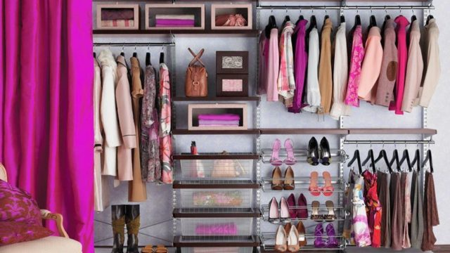 Here's how to optimize storage in your closet