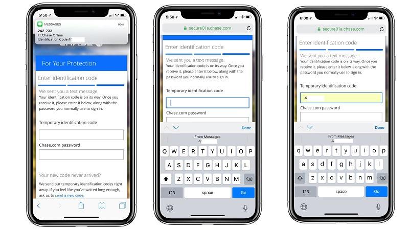 Plus besoin de mémoriser votre code de sécurité pour l'autorisation à deux facteurs avec iOS 12 et sa fonctionnalité de remplissage automatique