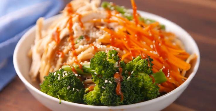 Ces nouilles buddha sont absolument divines et offre une option de lunch santé très intéressante