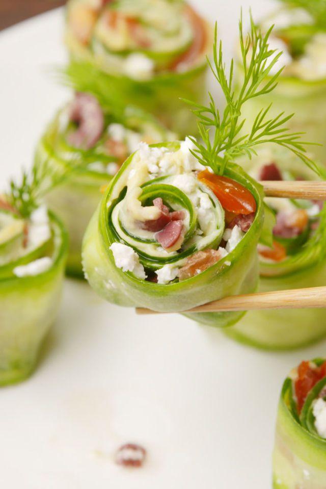 Ces délicieux sushis grecs de Delish vous feront un lunch parfait