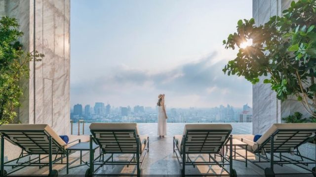 The most beautiful hotels in Bangkok, Thailand