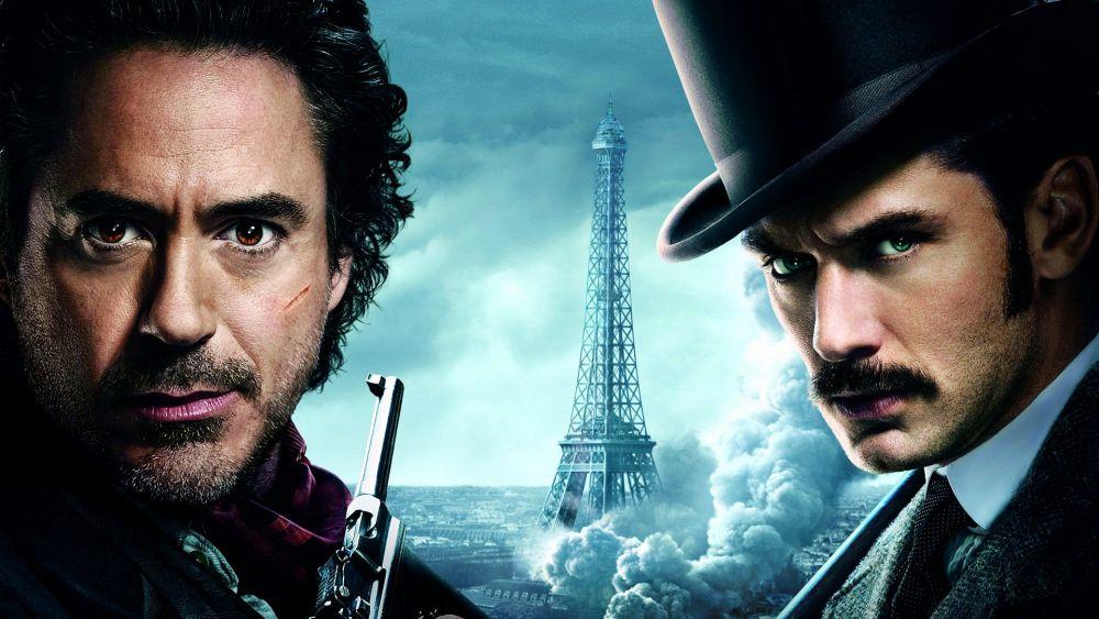 Retrouvez les incroyables Robert Downey Jr. et Jude Law dans le film Sherlock Holmes: A Game of Shadows dès le 15 décembre 2018 sur Netflix