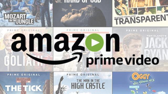 Amazon Prime: films et séries prévus en décembre 2018