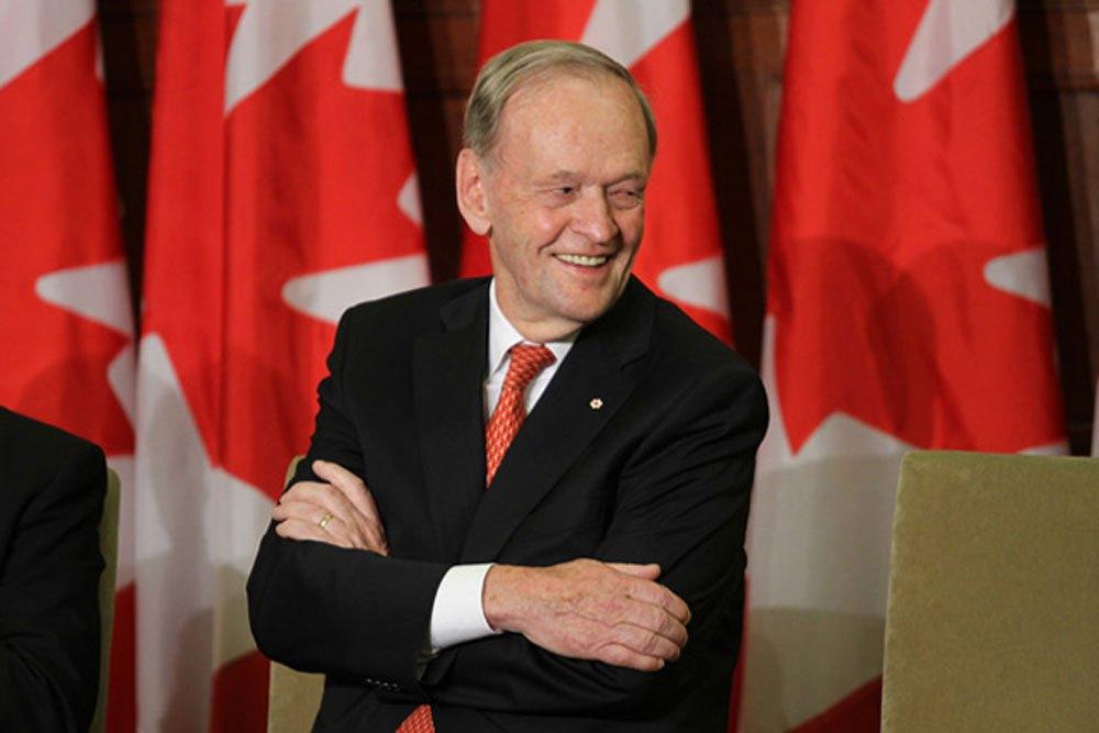 Jean Chrétien se classe en 7e place des meilleurs premiers ministres du Canada
