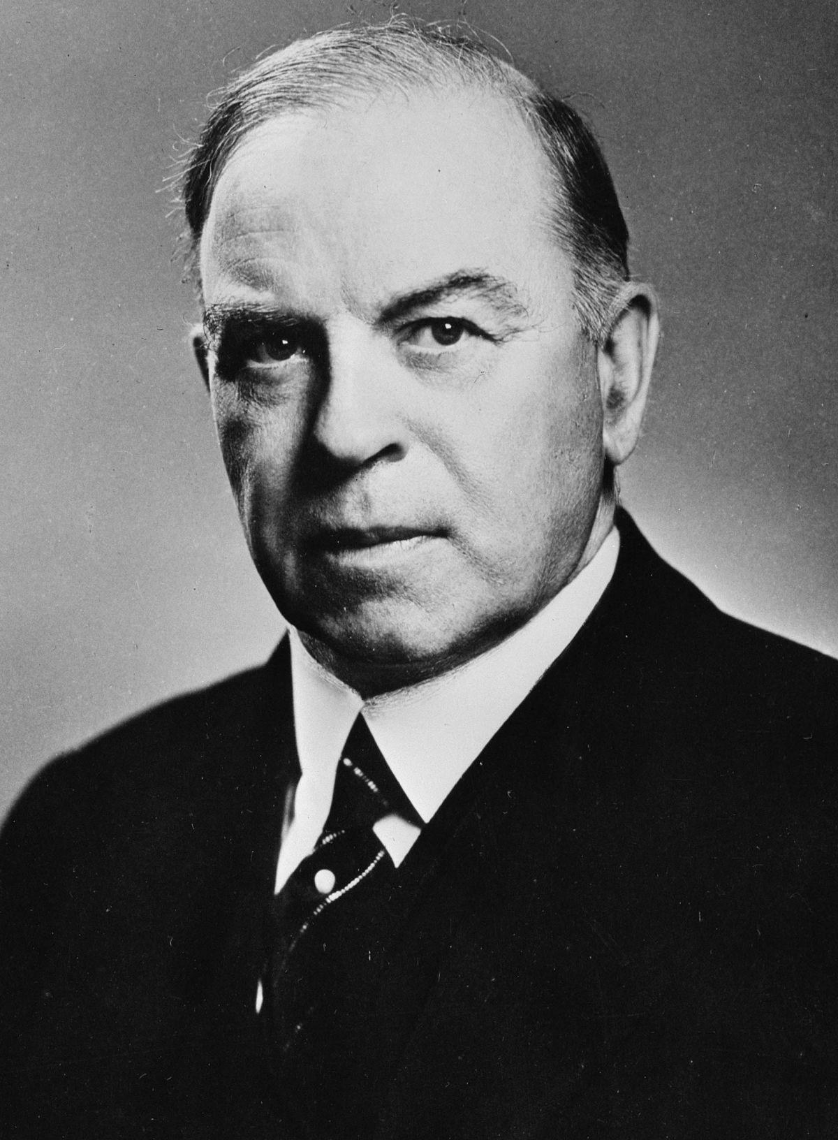 William Lyon Mackenzie King est considéré comme le meilleur premier ministre que la Canada ait connu