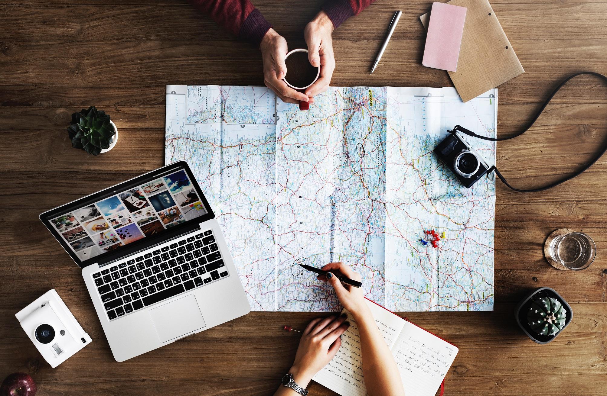 Préparer un voyage en quelques étapes toutes simples
