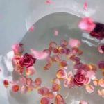 Bienfaits eau de rose: de l'apaisement de la peau au dessert savoureux