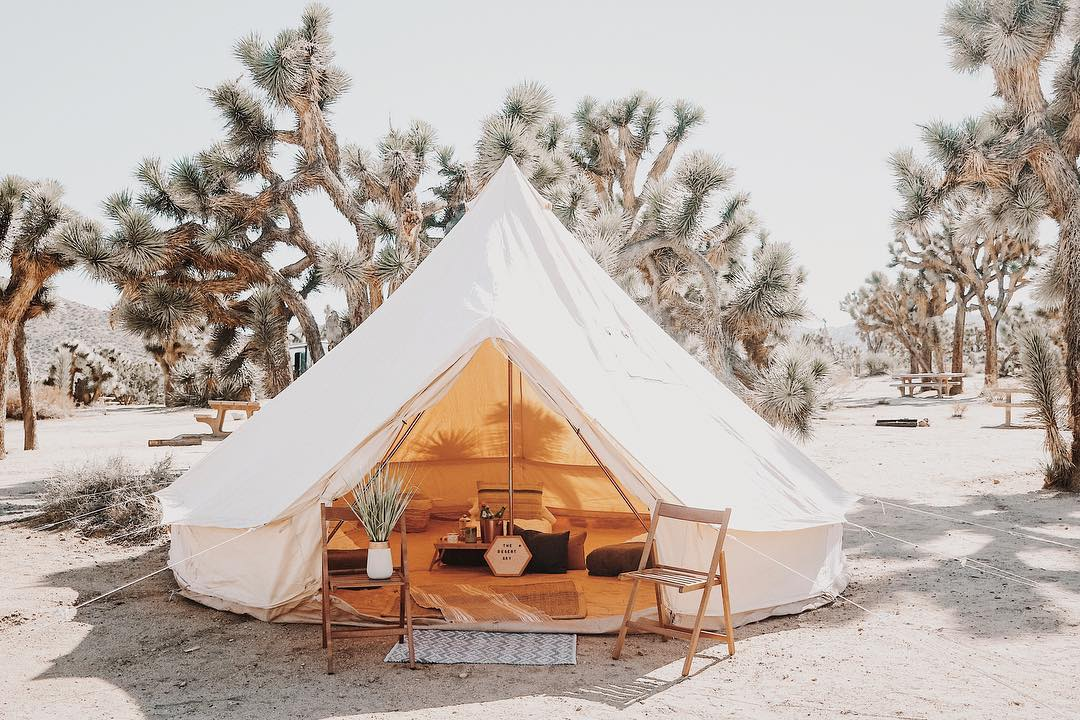 Glamping: the ready-to-camp formula, an accessible luxury