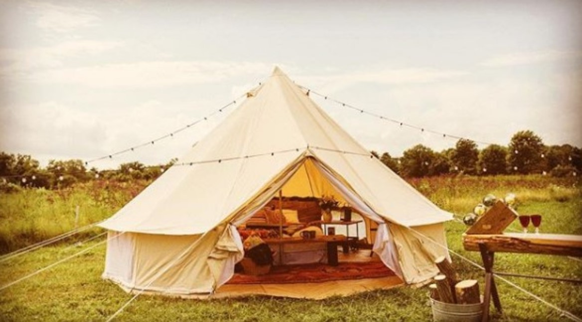 8 beautiful glamping tents to take camping to the next level