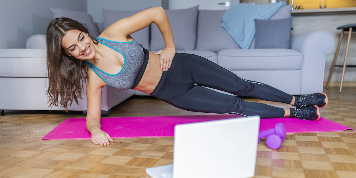 The Best At-Home Exercices To Do To Stay In Shape